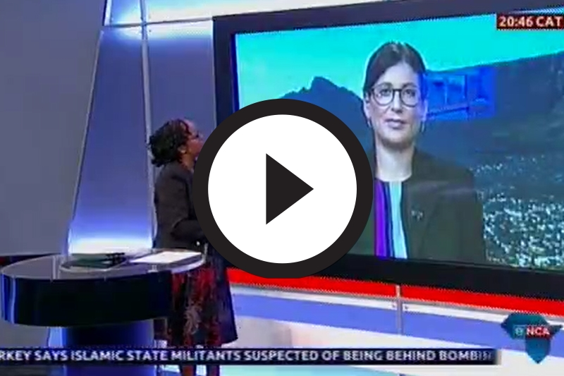 ENCA Interview 12 October 2015